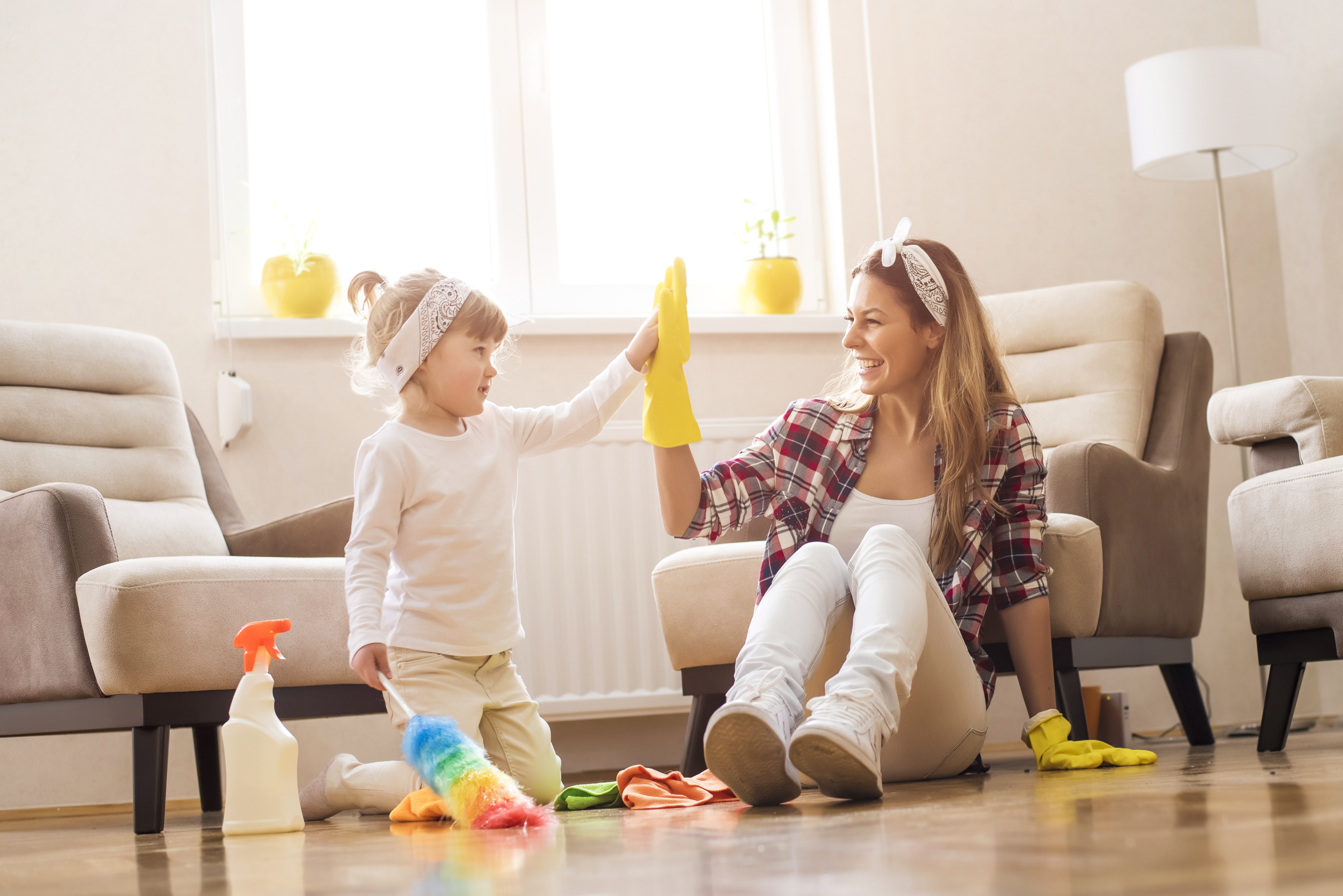 House Buyers Survey >> Make Spring Cleaning Fun for the Whole Family